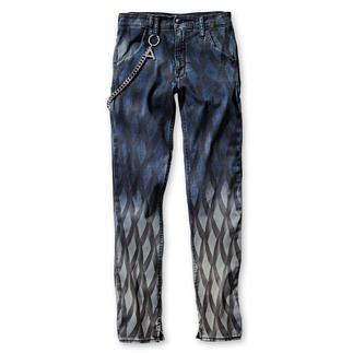 Cycle Print-Jeans Die Skinny-Jeans ist einzigartig durch Print plus Farbverlauf.