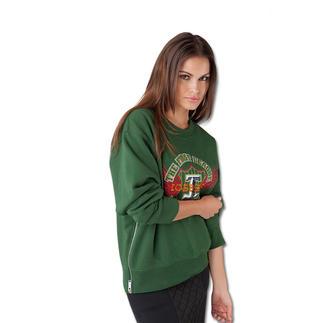 Iceberg College-Edelsweater Trend-Piece Sweatshirt – hier ist die Edel-Version von Iceberg.