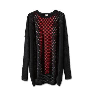 M Missoni Oversize-Pullover Aktuell oversized – und doch feminin figurbetont.