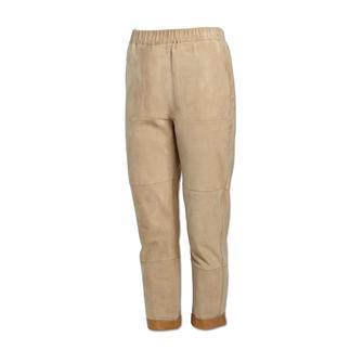 Pinko Lammnubuk-Jogging-Pants Lässiges Luxus-Piece: Jogging-Pants aus softem Lammnubuk.