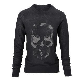 Zadig & Voltaire Skull-Pullover Kaschmir-Klassiker mit coolem Fashion-Update: Der perlenbestickte Skull- Pullover von Zadig & Voltaire.
