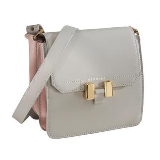 Maison Héroïne Cross-Body-Bag Die elegante unter den Cross-Body-Bags: Puristisches Design. Feinstes Kalbleder mit vergoldeten Beschlägen.