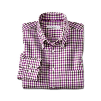Das leichte unter den Flanell-Hemden. Aus allerfeinstem Light-Flanell. Weich und wärmend wie Flanell – aber viel leichter, feiner und kombinierfreudiger.