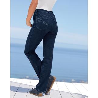 Magic-Jeans Flacher Bauch. Fester Po. Und eine schlanke Taille.