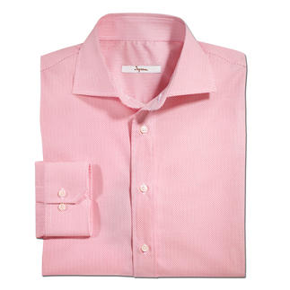 Ingram Kaviartupfen-Hemd Selten ist ein gemustertes Hemd so gut zu kombinieren. Aktuelles Minimalmuster, dezent genug für das Business.