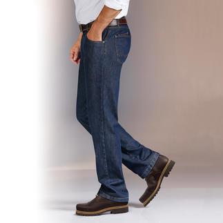 Die perfekt sitzende Jeans für fast jeden Figurtyp. Von Deutschlands Hosen-Spezialist Eurex by Brax. Ergonomische Passform. Stretch-Denim. Dynamischer Dehnbund. Und Anti-Rutsch-Innenbund sorgen für Tragekomfort.