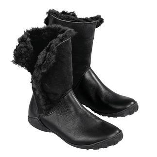 Die Lammfell-Stulpen-Stiefel von Arcus - so bequem sind winterwarme, wetterfeste Stiefel nur selten. Wasserdicht. Kälte isolierend. Flexibel. Stoßdämpfend. Abriebfest. Weich. 325 Gramm leicht.