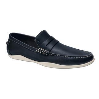 Der stilvolle Freizeit-Loafer, der so rutschfest ist wie ein Surfer-Schuh. Von Harrys of London. Geschmeidig weiches Kudu-Leder. Wasserdichte, abriebfeste Vibram®-Profilsohle.