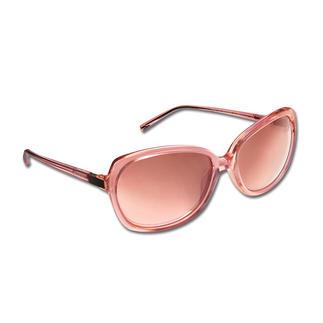 Die Retro-Sonnenbrille - eine große Brillenform, die auch schmalen Gesichtern schmeichelt. Von Strenesse. Außergewöhnlich und trotzdem dezent und feminin. Zarter Rosé-Ton schmeichelt blassem und gebräuntem Teint.
