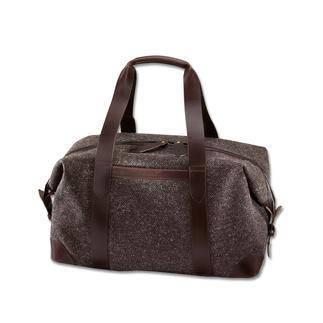 Die stilvolle Overnight-Bag aus wasserdichtem Tweed. Robust, langlebig. Made in Great Britain vom Taschenspezialisten Cherchbi.