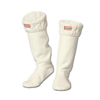 Stylische Hunter Boot-Socks. Ideal bei winterlichen Temperaturen. Aus 3 Schnittteilen in Form genäht. Perfekter Sitz - kein Rutschen oder Verdrehen.