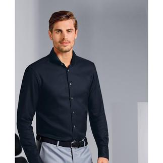 Das wintertaugliche Panama-Hemd von van Laack. Luftig und atmungsaktiv wie Panama. Wärmend und volumig wie Flanell.