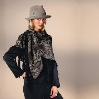 Der klassische Herren-Homburg, jetzt für modebewusste Damen neu interpretiert. Aus dem Atelier der Aachener Hutmacherin Ellen Paulssen.