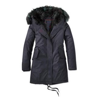Der Fake-Fur-Parka, der von echtem Pelz kaum zu unterscheiden ist. Edler, matter Baumwollstoff. Wärmende Wattierung. Von CANADIAN CLASSICS.