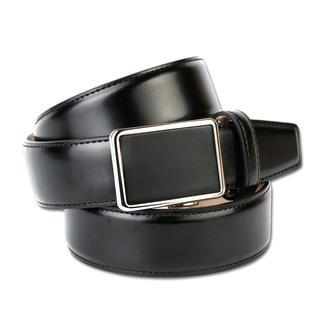 Der puristische Gürtel, der zu unzähligen Outfits passt. Stufenlos verstellbar und keine Löcher im Leder.