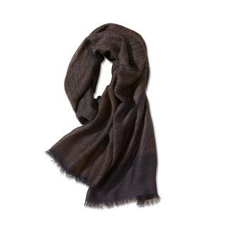 Der perfekte Ganzjahres-Schal. Zeitlose Farben. Und nie zu warm oder zu kalt.