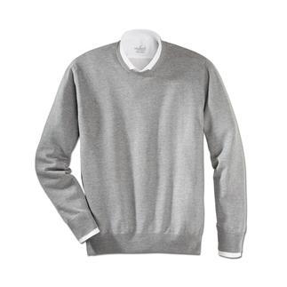 Die pflegeleichten Pullover aus extrafeiner Merinowolle. Waschen, trocknen, tragen. Unglaublich weich und nahezu pillingfrei. Strickkunst von Alan Paine/England, seit 1907.