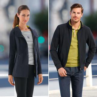 """Die innovative """"Holistic Technology""""-Jacke für Damen und Herren. Ultraleicht. Voll funktionell. Selten elegant. Von RRD/Italien."""