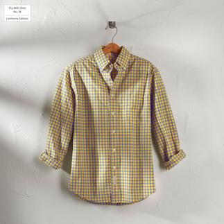 Das karierte BDO-Shirt No. 38 - aus luftig feinem Oxfordgewebe. Limitierte Edition. Bequem großzügig gefertigt - nichts engt Sie ein.