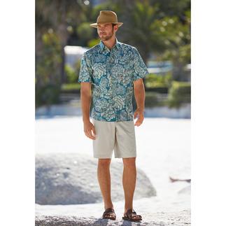 Das Hemd von Reyn Spooner. Hergestellt auf Hawaii. Ihr Hawaii-Hemd sollten Sie auf Hawaii kaufen. Oder...