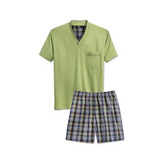Der Lieblings-Pyjama für nur 59,– €. Reine Baumwolle, sauber verarbeitet, made in Germany.