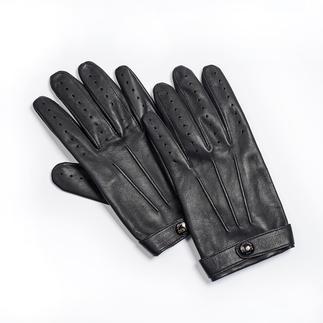 Der Gentleman-Handschuh: Visitenkarte des sicheren Geschmacks. Feinste Lederhandschuhe aus Großbritannien, seit 1777.