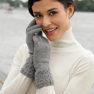Die exquisiten Kaschmir-Handschuhe vom Spezialisten Johnstons of Elgin/Schottland. Überraschend günstig.