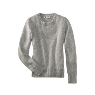 Der weiche Donegal-Tweed-Pullover aus 100 % feinstem 4-Ply-Kaschmir. Vom Kaschmirspezialisten und Lieferanten edelster Couture Häuser: Johnstons aus Schottland.
