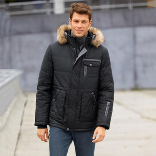 Die AJK Climate-Control®-Jacke: 10-fach funktionell. Und selten chic. Die AJK Climate-Control®-Jacke: 10-fach funktionell. Und selten chic.
