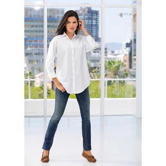 Die erstaunlich feminine und elegante Oversize-Bluse. Premium-Qualität von Deutschlands Blusenspezialist van Laack, seit 1881.