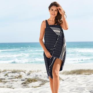 Das Strandtuch von Vaca Vaca - ein handgewebtes Unikat. Weich und saugstark wie Frottee. Aber leichter, platzsparender. Und schneller wieder trocken.