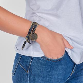 """Das besondere Mode-Accessoire aus südafrikanischem Sonnenstoff. """"Alles bestens"""": Ihr Hakuna-Matata-Armband gibt es so kein zweites Mal auf der Welt."""