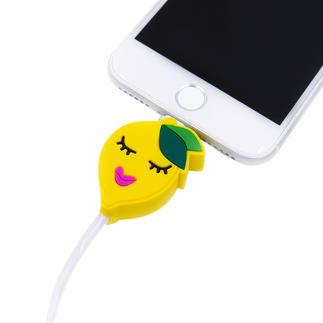 Das perfekte Präsent für alle Apple-Fans: die Motiv-Ladekabel mit Leuchteffekt. Vom Berliner Accessoire-Trendlabel Iphoria.