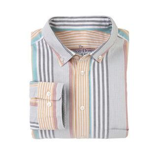 Das luftig-lässige BDO-Shirt aus feinem Oxfordgewebe. Entdecken Sie einen guten alten Freund. Und vergessen Sie, dass ein Hemd gebügelt werden muss.