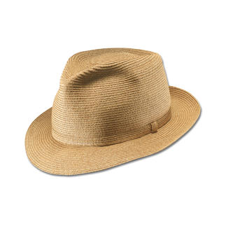 """Der Hut, der geknautscht werden darf - und immer in Form bleibt. Ein seltenes Meisterwerk deutscher Hutmacherkunst: der """"Fedora"""" von Mayser, seit 1800."""
