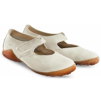 Die Nubuk Ballerinas von Arcus®/ Frankreich - robust genug für Wind und Wetter. Samtweich zu nackten Füßen. Bequeme Ballerinas für 12 Monate im Jahr. Mit natürlicher Latex-Sohle und robustem 3,5mm Rindnubukleder.