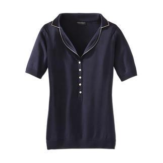 Das John Smedley-Polo aus wertvoller Sea Island-Baumwolle. In England formgestrickt. Die Herstellung dieses Shirts dauert 60 Stunden. Den Unterschied spüren Sie in Sekunden.