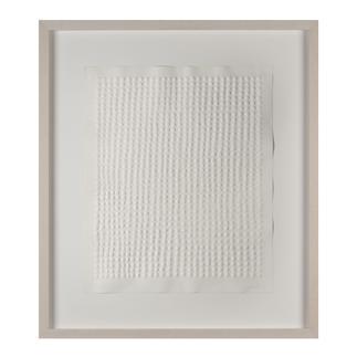 Günther Uecker – Reihung, 1972 Prägedruck auf 300-g-Büttenpapier  Auflage: 100 Exemplare   Exemplar: e. a.  Blattgröße (B x H): 50 x 60 cm   Maße: gerahmt 74 x 84 cm
