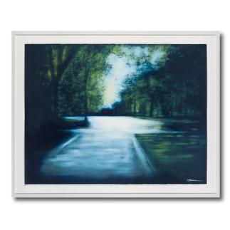 Erik Offermann – Parklandschaft Erste handübermalte Edition der charakteristischen Landschaften Erik Offermanns. 30 Exemplare. Maße: 115 x 88 cm
