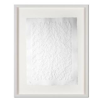 Günther Uecker – Strahlung Prägedruck auf 300-g-Büttenpapier  Auflage: 100 Exemplare   Exemplar: e. a.  Blattgröße (B x H): 60 x 76 cm   Maße: gerahmt 78 x 94 cm