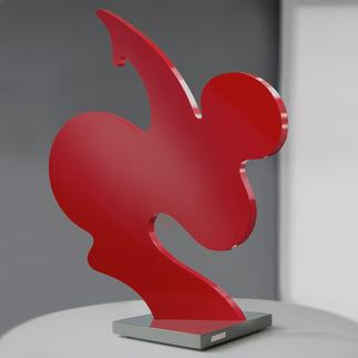 """Alfred Bradler – SAPRI Alfred Bradlers weltberühmte """"SAPRI""""-Skulpturen: Neueste Figur – exklusiv für Pro-Idee entwickelt. Niedrig limitiert – in zwei Größen erhältlich. Maße: 50 x 46 cm"""