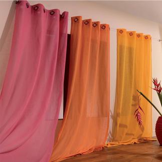 """Vorhang """"Fresh"""", 1 Vorhang Frische Farbenpracht macht Lust auf neue Wohnideen."""