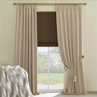 """Vorhang """"Moonlight"""", 1 Vorhang Endlich ein beidseitig schöner Verdunkelungsstoff."""