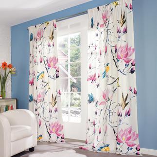 """Vorhang """"Madame Butterfly"""", 1 Vorhang Neu in der Designers- Guild-Kollektion – und schon ein Bestseller: """"Madame Butterfly"""""""