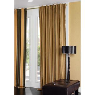 """Vorhang """"Scotch"""", 1 Vorhang Dieser edle Satin verdunkelt auch die Fenster des ersten offiziellen Beatles-Hotels in Liverpool."""
