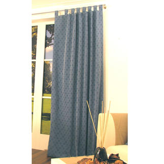 """Vorhang """"Living"""", 1 Vorhang Warm und gemütlich: Der Vorhang mit Flanell-Charakter."""