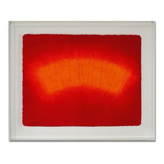 André Schweers – Cresté Im charakteristischen Papiergussverfahren handgefertigt. 12 Exemplare in Acrylrahmung. Maße: 78 x 63 cm