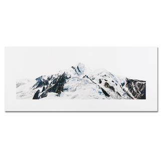 Georg Küttinger – Mont Blanc Der Komponist unter den Fotokünstlern: Georg Küttingers Landschaftsbilder – erstmals als Edition. 20 Exemplare auf DIBOND®. Maße: 130 x 55 cm