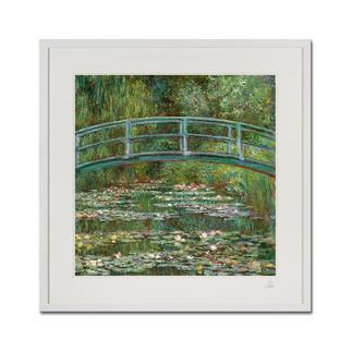 """Claude Monet – Water Lily Pond (1899) Claude Monet """"Water Lily Pond"""" (1899) als High-End Prints™. Endlich eine Qualität, die dem großen Meisterwerk tatsächlich gerecht wird."""