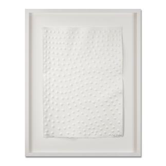 Günther Uecker – Graphein B Prägedruck auf 300-g-Büttenpapier   Auflage: 120 Exemplare zzgl. e. a.   Blattgröße (B x H): 50 x   70 cm   Maße: gerahmt 73 x 93 cm